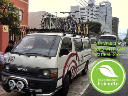 Peru Cycling Natural Gas Vehicle www.perucycling.com