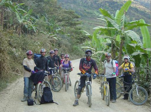 Inka Jungle biking