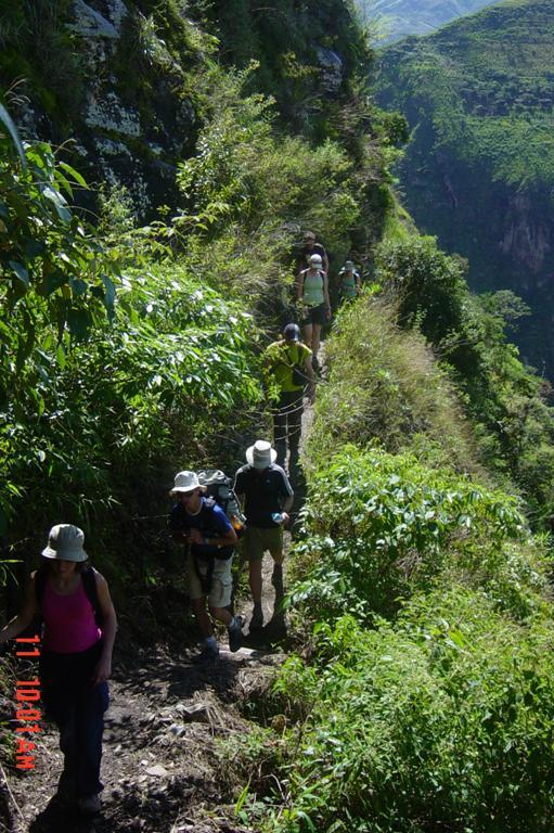 Inka Jungle hiking