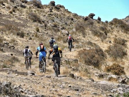 Olleros mountain bike tour www.perucycling.com