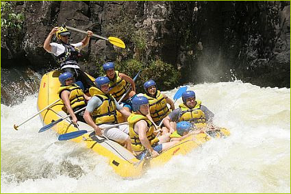 Inka jungle rafting